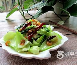 海米炝油菜