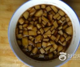 苹果红糖水