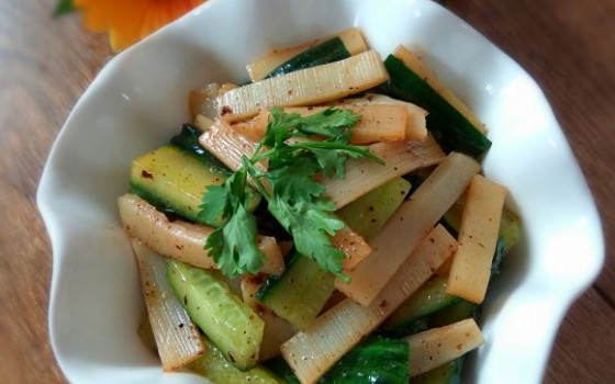 凉拌竹笋黄瓜