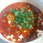 牛肉豆腐红汤