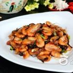 梅干菜炒河虾