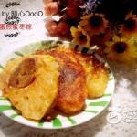 鸡蛋煎蜜枣粽子