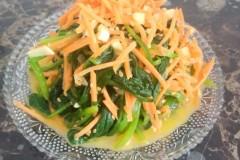 凉拌芝麻菠菜