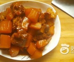 排骨烧萝卜