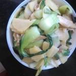 土豆片炒油菜