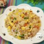 菠萝鲜虾炒饭