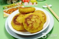 鸡蛋椰蓉馅玉米粉煎饼