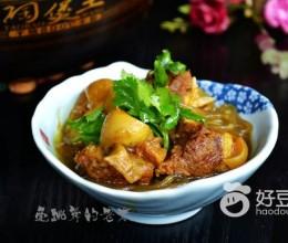 咖喱山羊肉粉丝煲