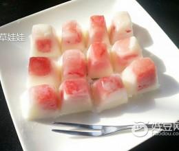 西瓜酸奶冰块