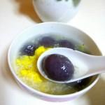 蛋花米酒汤圆