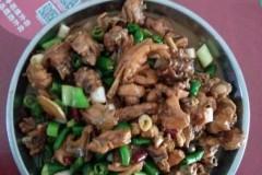 花生油炒鸡