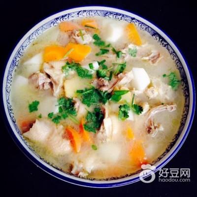 山药鸡架汤