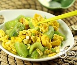 丝瓜怎么做好吃--鸡蛋炒丝瓜