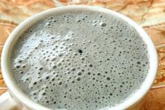 黑芝麻香蕉奶饮