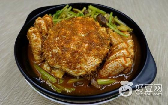 泰式酸辣蟹