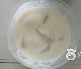 自制黄桃酸奶