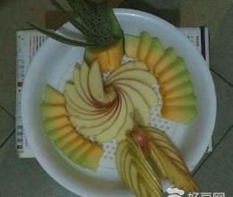 水果拼盘自己做着吃