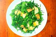 韭菜干豆腐