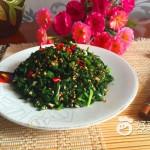 芝麻拌芹菜叶
