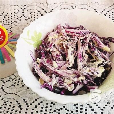 紫包菜沙拉