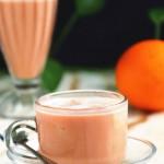 草莓柳橙汁