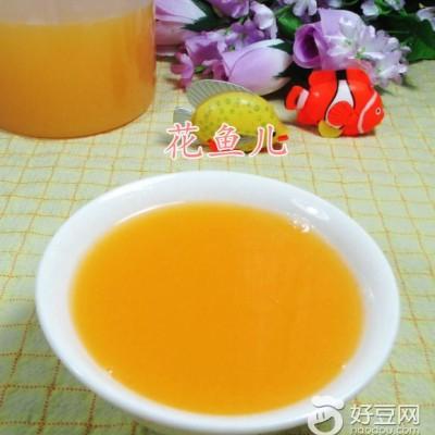 胡萝卜黏玉米汁