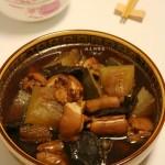 陈年菜脯冬瓜猪尾汤