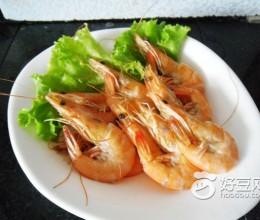 黄酒灼青虾