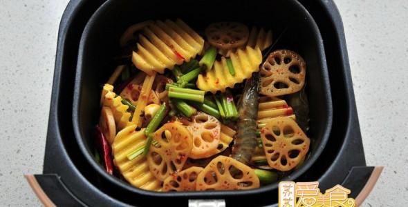 无油麻辣香锅的做法【图解】_无油麻辣香锅的家常做法_无油麻辣香锅怎么做_
