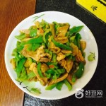 青椒榨菜肉丝