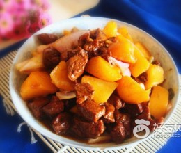 孜然羊肉炖土豆