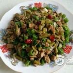 酸豇豆炒肉