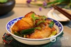 豆瓣酱焖脆肉腕鱼