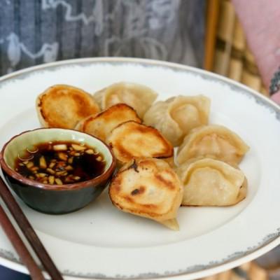 猪肉白菜虾仁煎饺