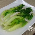 沙虫汤浸水东芥菜