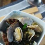 紫菜花蛤汤