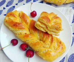 胡萝卜椰蓉面包条