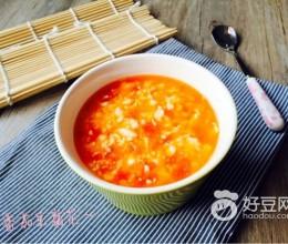 番茄豆腐花