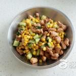 鸡丁炒玉米粒