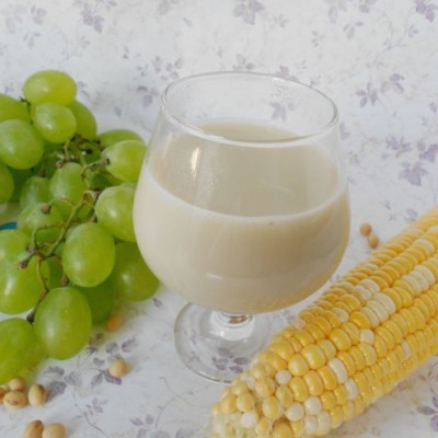 玉米葡萄豆浆