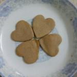 爱心形饼干