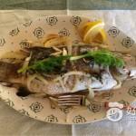 烤纸包鲈鱼