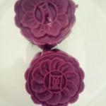 紫薯蔓越莓月饼