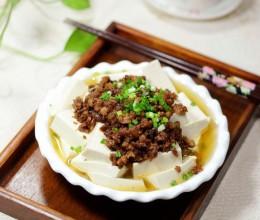 肉末蘸豆腐