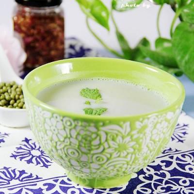 黄瓜绿豆豆浆