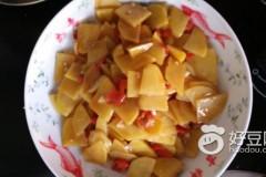 干辣椒蚝油土豆片