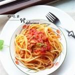 番茄肉醬意面
