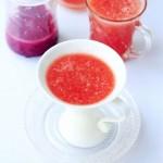 西瓜香梨汁