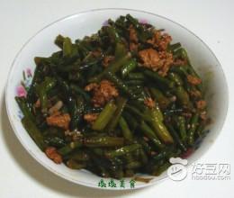 肉末炒豇豆角