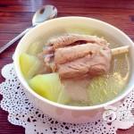 佛手瓜展肉汤